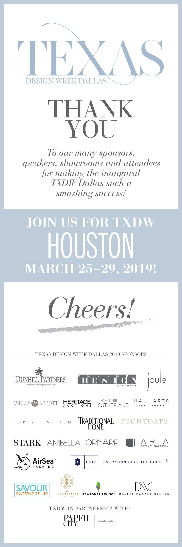 Texas Design Week 2018 - Dallas